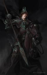 Huntress by tithendar
