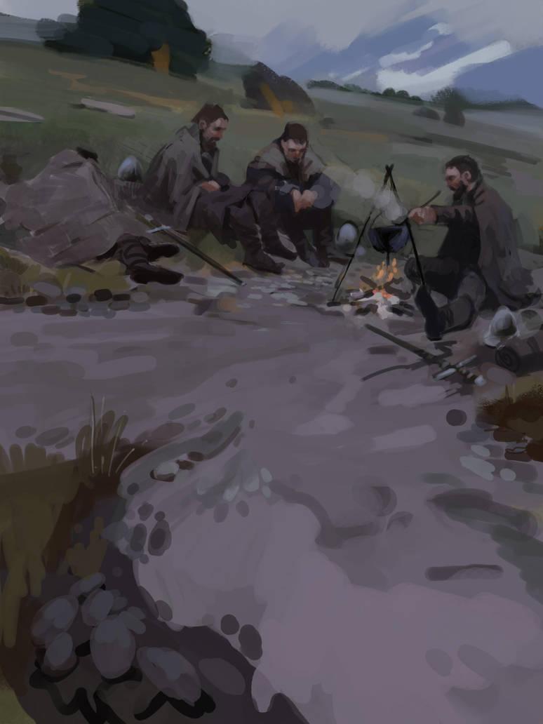 Campfire by tithendar