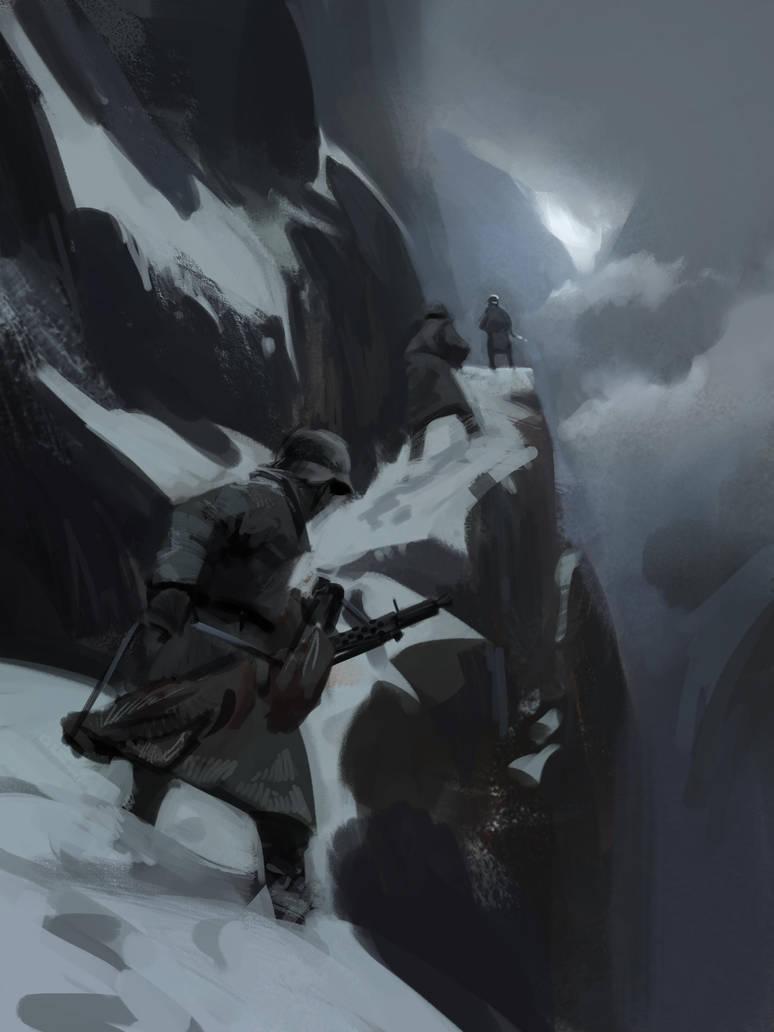 Mountain Pass by tithendar