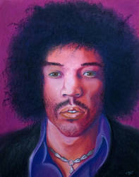 Portrait 10 (Jimi) revamped by JessicaSoulier