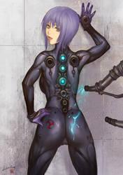Cyber Girl by ariverkao