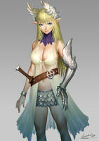 Girl Warrior by ariverkao