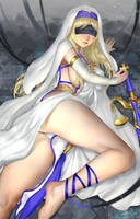 Sword Maiden by ariverkao