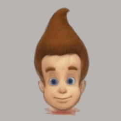 Face of Jimmy Neutron by Sousafighter