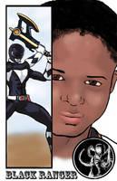 Black Ranger Zack by TheFireAngel