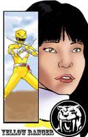 Yellow Ranger Trini by TheFireAngel