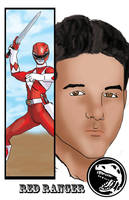 Red Ranger Jason by TheFireAngel