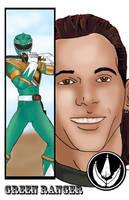 Green Ranger Tommy by TheFireAngel