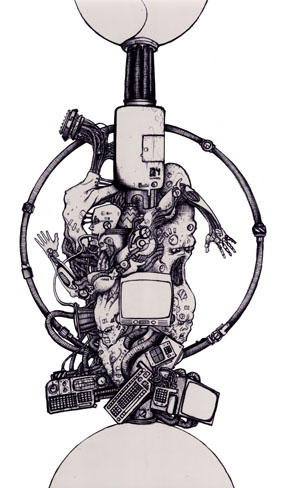 Cyber Totem by Vonkor