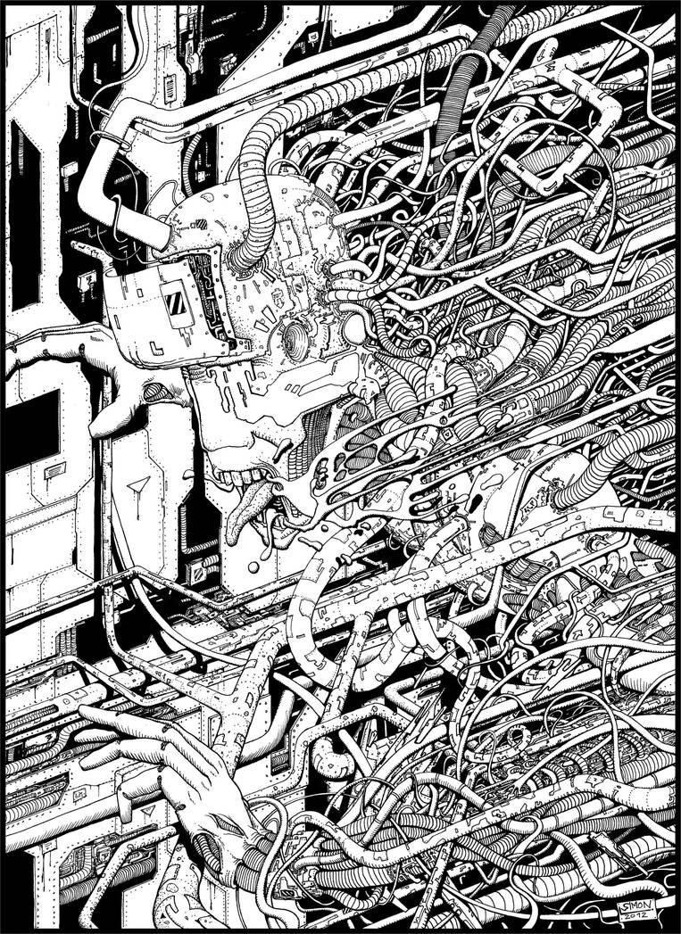 Cybernetic Nightmare by Vonkor