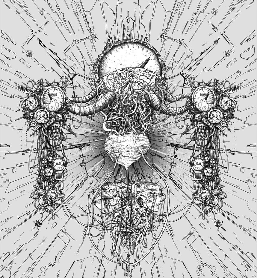 Siamese machinae by Vonkor