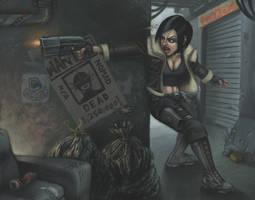 Gunfight by cmatthewjackson