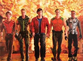 Justice League by HeroArtist20