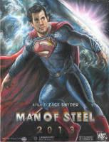 Man of Steel 2013 Superman by HeroArtist20