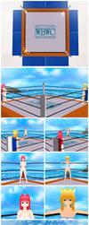 Haruko vs Shiromouse 01 by Psychopatrick88