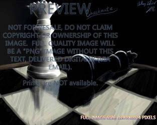 'CHECKMATE' Original Work by chaosdragon11590