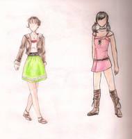 Female Outfits by Kanoelani