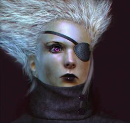 3D Girl by niraky