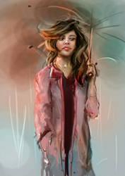 Rainy Doodle by niraky