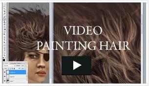 Video - Painting Hair by niraky