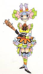 Pinata girl concept by RexyTheT-Rexy