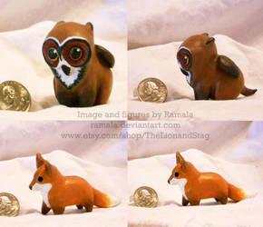 Mini Beasties (Sculpt) by Ramala