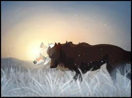 Frost in Besteng by Ramala