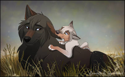 Father, Daughter by Ramala