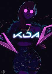 K/DA by SHELLMARU