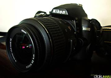 Nikon D3000 DSLR by Otaku-Maru