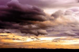 Sky In Fire 4 by pelleron
