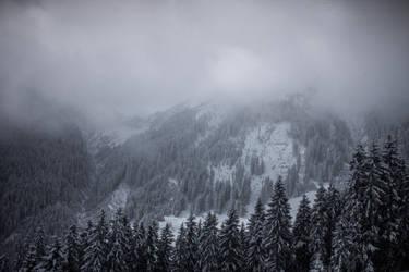 Empty Spaces of Alps by pelleron