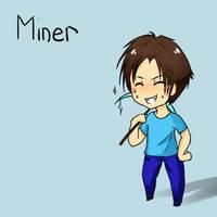 Minecraft 3 - Miner by Ofelie