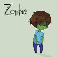 Minecraft 6 - Zombie by Ofelie