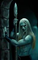 Prince Nuada Silverlance by legadema666