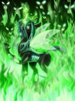 Queen of the Changelings by JaDeDJynX