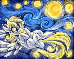 A Starry Night Snack by JaDeDJynX
