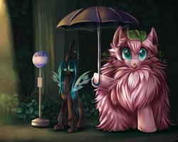 My Neighbor Fluffle by JaDeDJynX