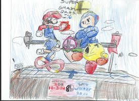 Super Smash Bros. For Wii U by SmashWaffle