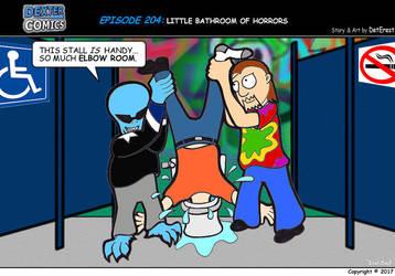 Dexter Comics Episode 204 by detstar