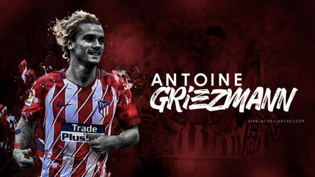Antoine Griezmann (Atletico Madrid) Wallpaper by dianjay