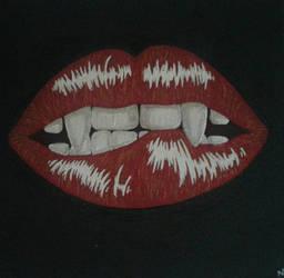 Lips by MADMEL74