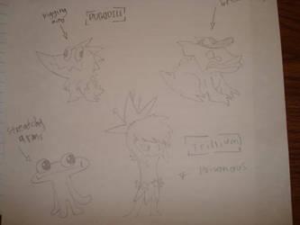 Creatures by Squidora