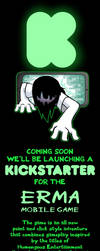 Coming Soon... The Kickstarter for Erma's Game by OUTCASTComix