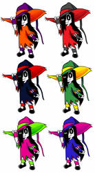 Erma's Witch Outfits by OUTCASTComix