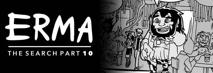 Erma Update- The Search Part 10 by OUTCASTComix