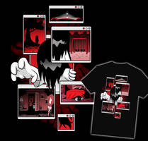 ATTACK OF THE NEW ERMA SHIRT! by OUTCASTComix