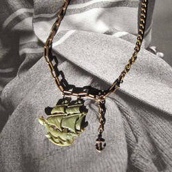 Ghost Ship Necklace by Sarade33