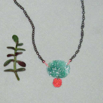A Rose Among Jade Lilies Neckl by Sarade33