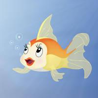 Goldfish Cleo by nadda1984